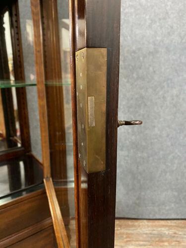 Vitrine christalliére de magasin en palissandre époque napoléon III, Maison Krieger Paris