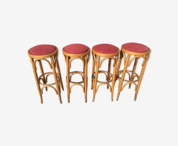 Série de 4 tabourets de bar