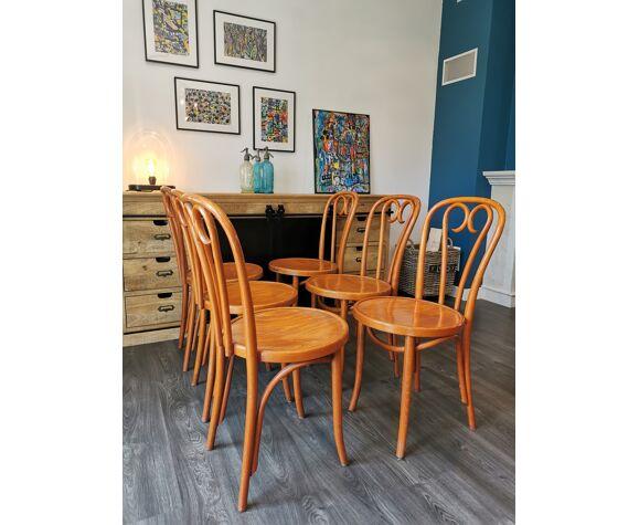 Ensemble de 6 chaises bistrot