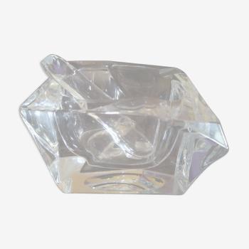 Cendrier et pilon en Cristal Daum