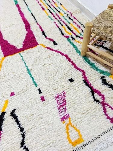 Tapis berbere coloré 240 x 53 cm