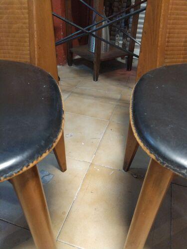 Paire de chaises italiennes