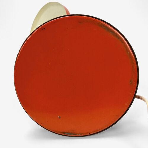 Lampe à poser cocotte orange