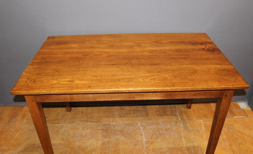 Table de bistrot en frêne fin XIX