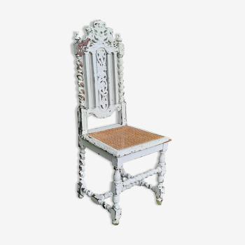 Chaise style gothique