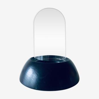 Glass globe on stand