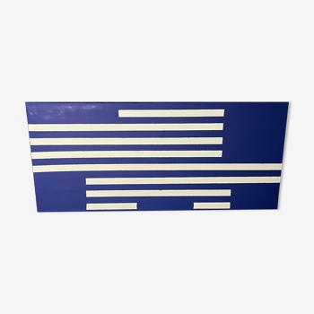 Peinture acrylique XXL, bleu de Klein