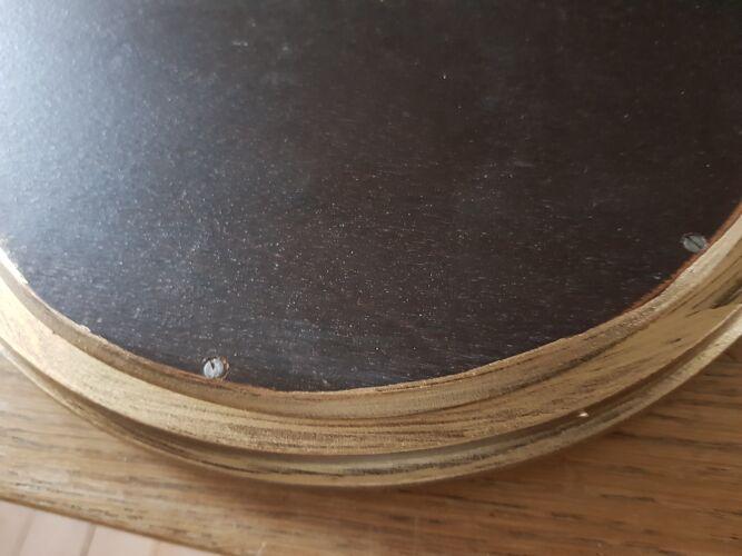 Miroir doré 60x45cm