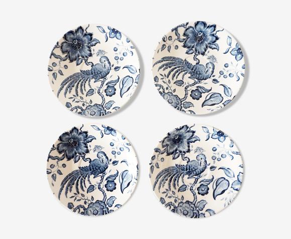 Sous-tasses porcelaine paradiso de villeroy & boch
