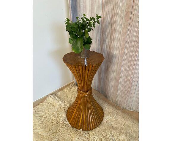 Sellette bambou de mc guire vintage 70