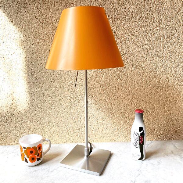 Lampe de table Constanzina Luceplan design Paolo Rizzatto vintage 1986