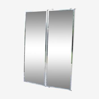 Miroir de tailleur à 2 vantaux - 151x20cm