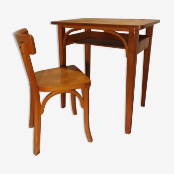 Bureau et chaise enfant Baumann