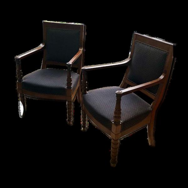 Paire de fauteuils Jacob Frères Rue Meslée