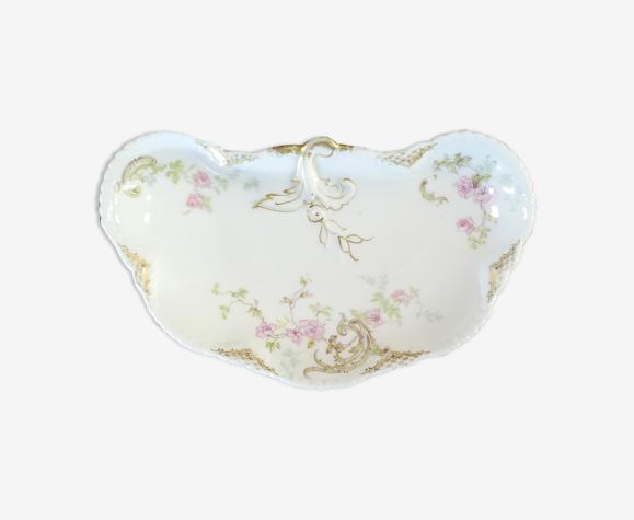 Porte savon en porcelaine de Limoges Theodore Haviland fin 19eme