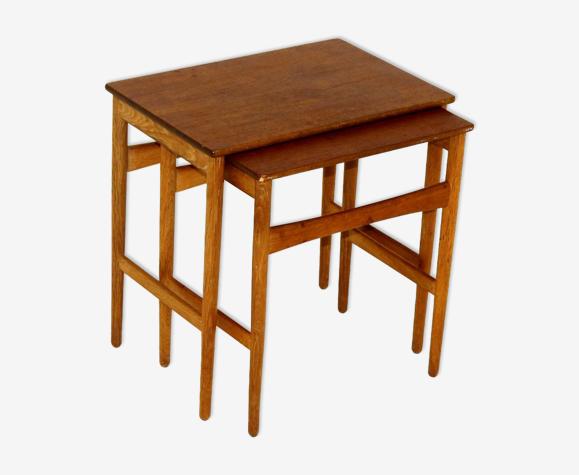 Nesting tables, Hans J Wegner, Andreas Tuck, Denmark, 1960