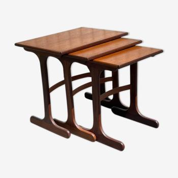 Scandinavian trundle tables G-plan