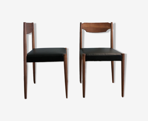 Paire de chaises style scandinave