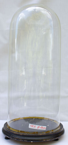 Globe en verre rond 42 x 18 cm