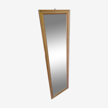 Miror rectangulaire en bois doré 1950 - 143x41cm
