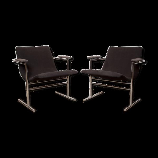 Oslo chairs and Rudi Verelst.