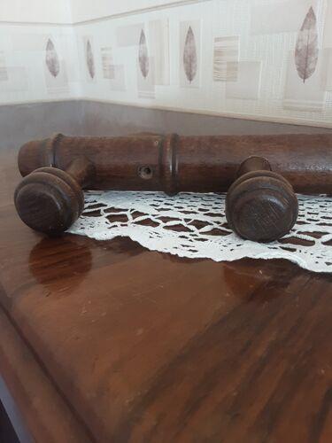 Coat rack 3 hooks in oak year 50