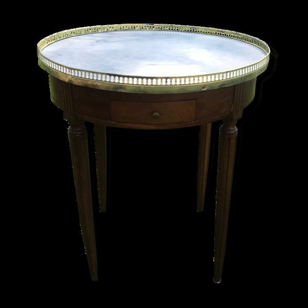 Table bouillotte Louis XVI 1900