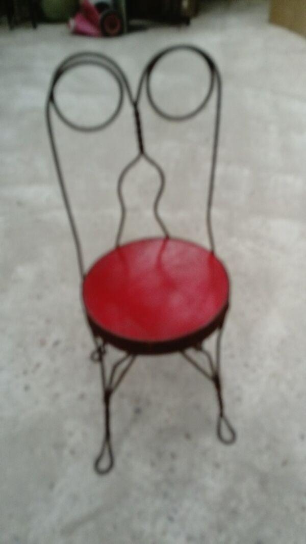 Chaise américaine.