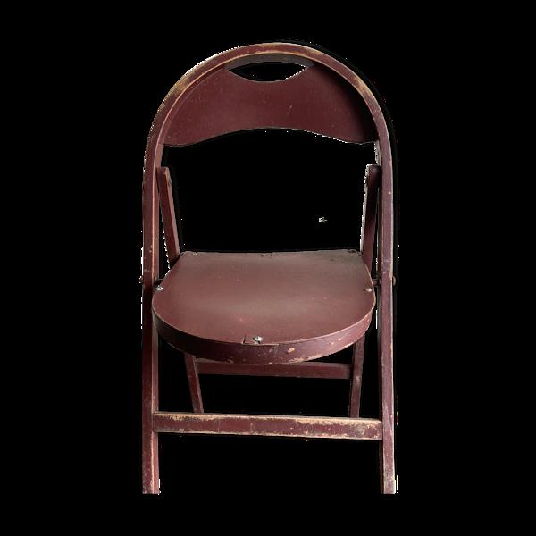Chaise pliante B751 Thonet Bauhaus 1950