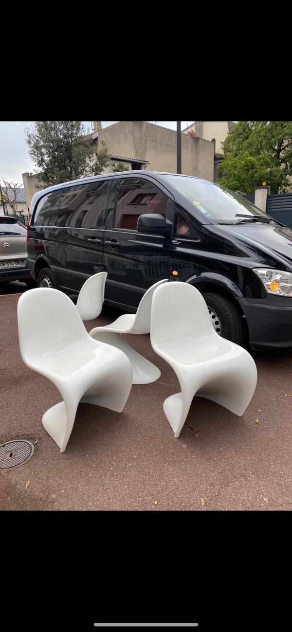 4 Panton Chairs de Verner Panton édition Vitra