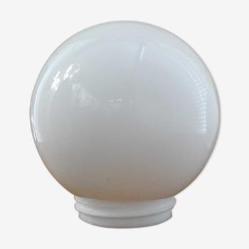 Globe en opaline blanche Ø 15 cm