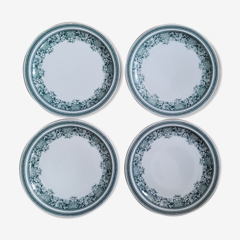 Set 4 assiettes plates Mosa