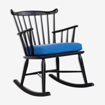 Rocking chair danois midcentury par Thomas Harlev pour Farstrup années 1960