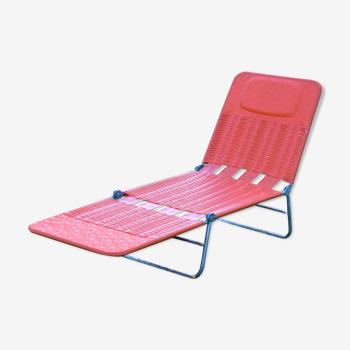 Chaise lounge du milieu du siècle de Kurz