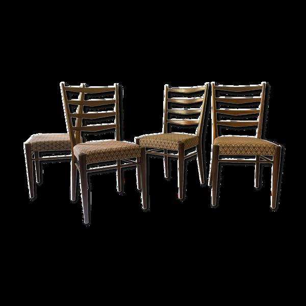 Suite de 4 chaises ST 09 for Pastoe, design Cees Braakman