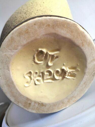 Céramique zoomorphe design années 60 , signature à identifier