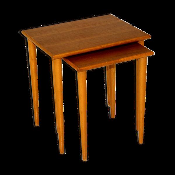 Tables gigognes Suède 1950