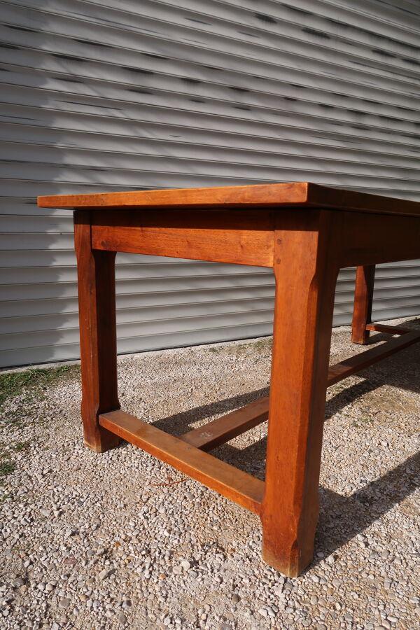 Table de ferme petite largeur