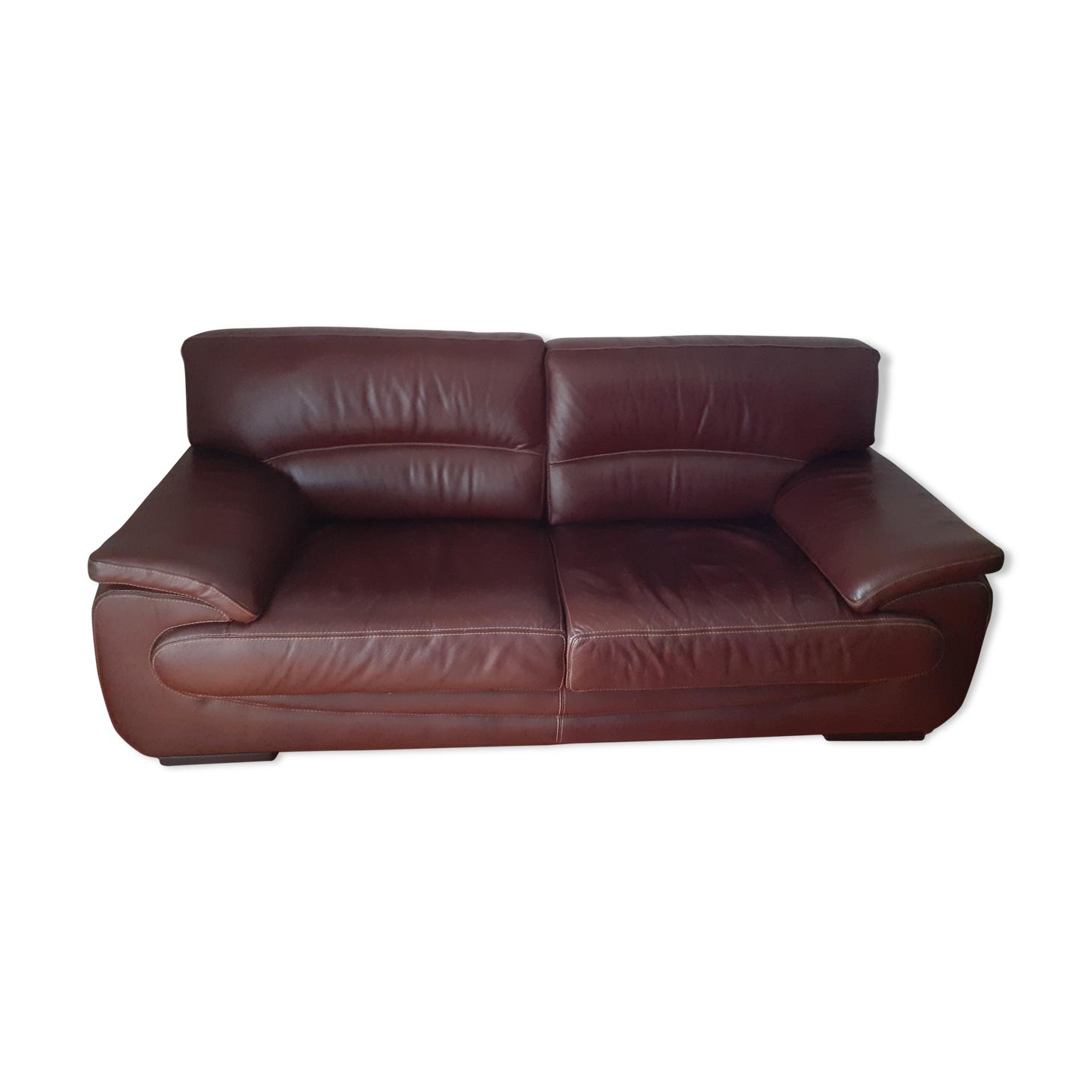 Canapé cuir mobilier de France