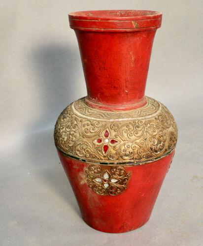 Paire de vases en terre cuite, Asie