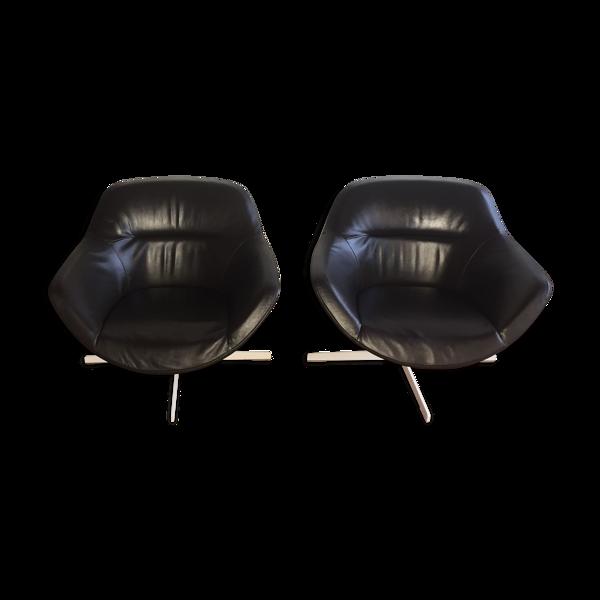 Lot de 2 fauteuils Auckland 277 par Jean Marie Massaud pour Cassina