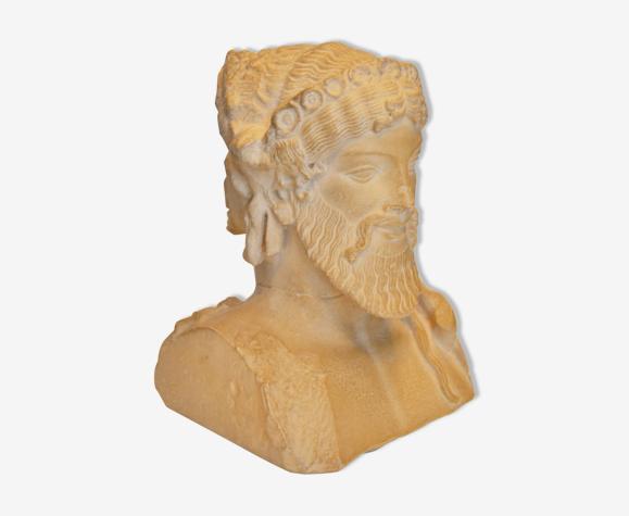 Buste d'Hermès bicéphale moulage du Louvre