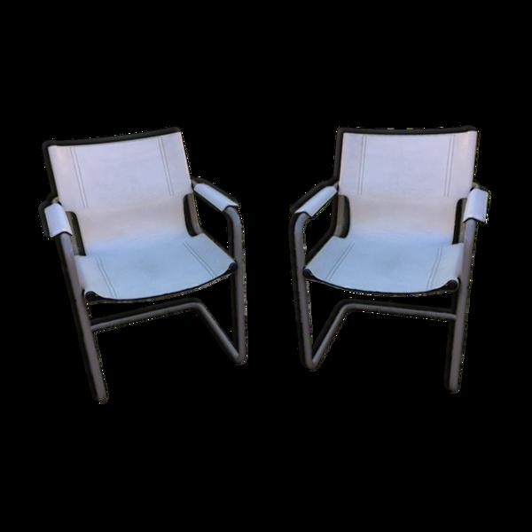 Paire de fauteuils Mattéo Grassi
