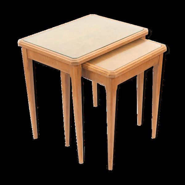 Tables gigognes années 40