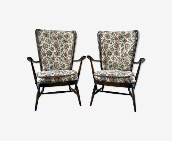 Paire de fauteuils Ercol