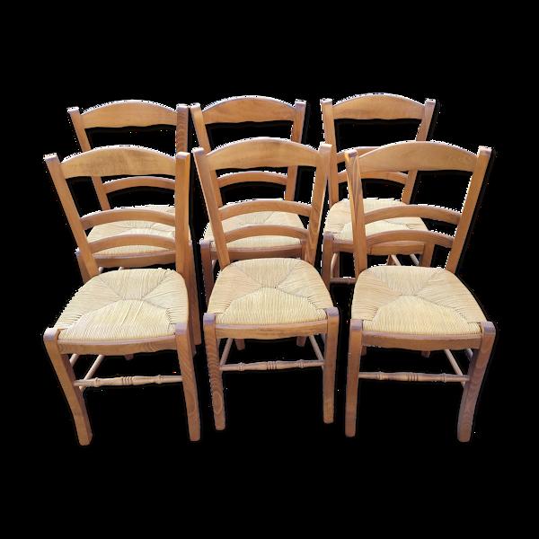Set de 6 chaises