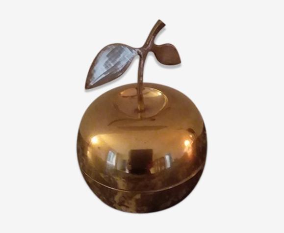 Pomme en laiton années 70
