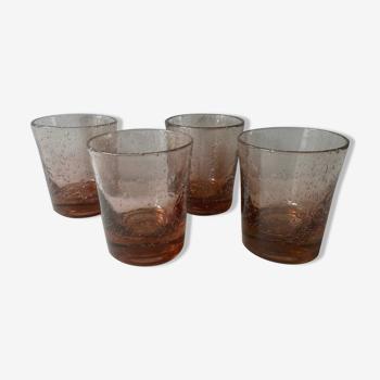 Série de 4 verres Biot