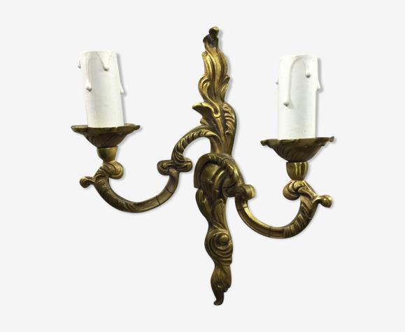 Applique Louis XV bronze