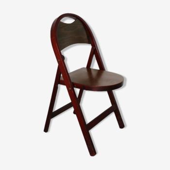 Chaise pliante Thonet b751 1930